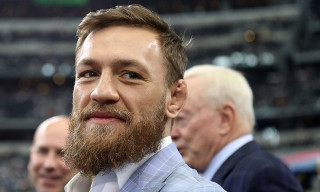 Conor McGregor Roasted for Worst Throwing Technique Ever Before Cowboys vs. Jaguars