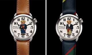 Ralph Lauren's Polo Bear 50th-Anniversary Watches Are Prep Perfection