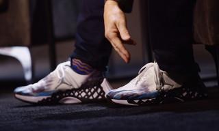 """Tinker Hatfield Debuts Jordan Brand's New """"GOAT"""" Running Sneaker"""