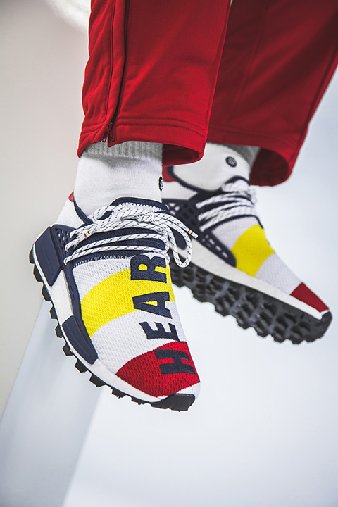 7b7edea9b The BBC x Pharrell Williams adidas HU NMD Drops This Week ...