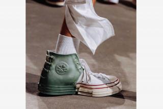 20fcaa81424 Flipboard  Converse Green White Fast-Break No Easy Buckets Sneaker