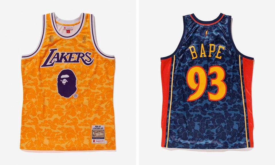 BAPE NBA Jerseys & Odell Beckham's OFF-WHITE x Nike | Ball ...