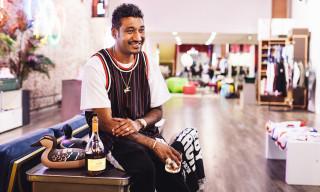 "Rémy Martin & Don C Debut ""Just Rémy"" Sneaker Box Cognac"