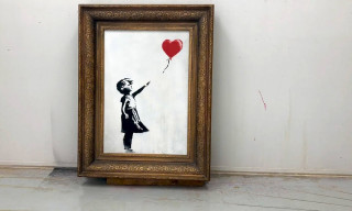 Banksy Video Shows 'Girl With Balloon' Shred Stunt Did Not go to Plan