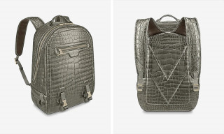 This Crocodilian Leather Louis Vuitton Backpack Can Be Yours for $79,000