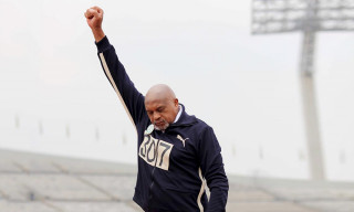 Celebs Mark 50th Anniversary of Tommie Smith's Olympic Black Power Salute