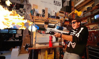 "Casey Neistat Tests & Critiques Elon Musk's Flamethrower ""Joke"""