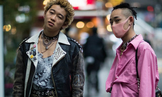 Punks & Clashing Plaid Prints Dominate Tokyo's Street Style