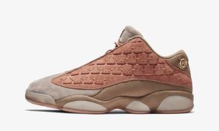 "The ""Terracotta Blush"" CLOT x Nike Air Jordan 13 Low Drops Tomorrow"