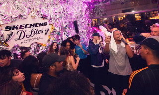 Skechers D'Lites X One Piece Gallery Launch Event Spills into Berlin Streets