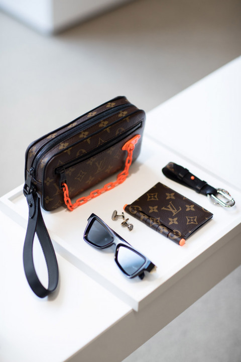 095e4e8455ef First Virgil Abloh-Designed Louis Vuitton Pieces Are Already Hitting  Flagship Stores
