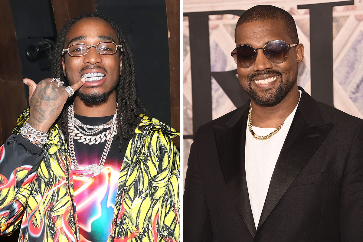 Quavo Says Migos Will Feature on Kanye West's 'YANDHI' – Celebrity