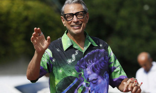 Jeff Goldblum Just Dropped a Line of Band Merch & It's Fire