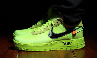 "OFF-WHITE x Nike Air Force 1 Surfaces in New ""Volt"" Colorway"
