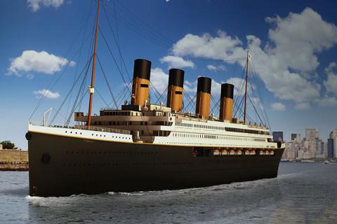 Replica of Titanic will set sail in 2022, follow original ship's route
