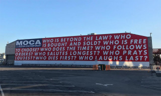 Barbara Kruger's 'Untitled (Questions)' Returns to the MOCA