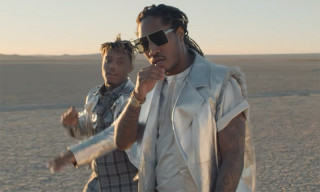 "Future & Juice WRLD Hit the Desert in a DeLorean for ""No Issue"" Video"