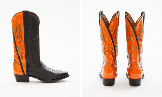 Helmut Lang Drops $1,500 Hand-Painted Cowboy Boots by Sarah Morris