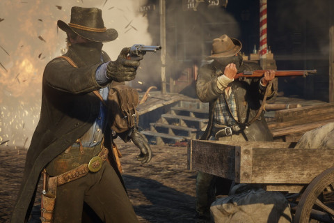 Behold Red Dead Redemption 2's terrifying bear attacks in first person mode
