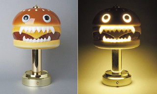 "UNDERCOVER & MEDICOM TOY Brings Back the Rare ""Hamburger Lamp"""