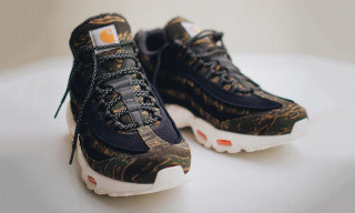 Carhartt Gives Nike's Air Max 95 a Camo Makeover