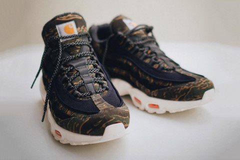 best cheap a7249 769a8 ... official carhartt gives nikes air max 95 a camo makeover fe2c7 ce4af