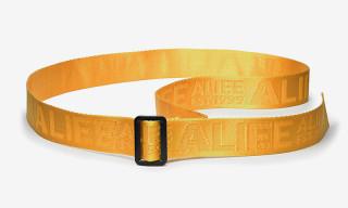 ALIFE Drops New Logo Jacquard Belt & Resealable Tote Bag