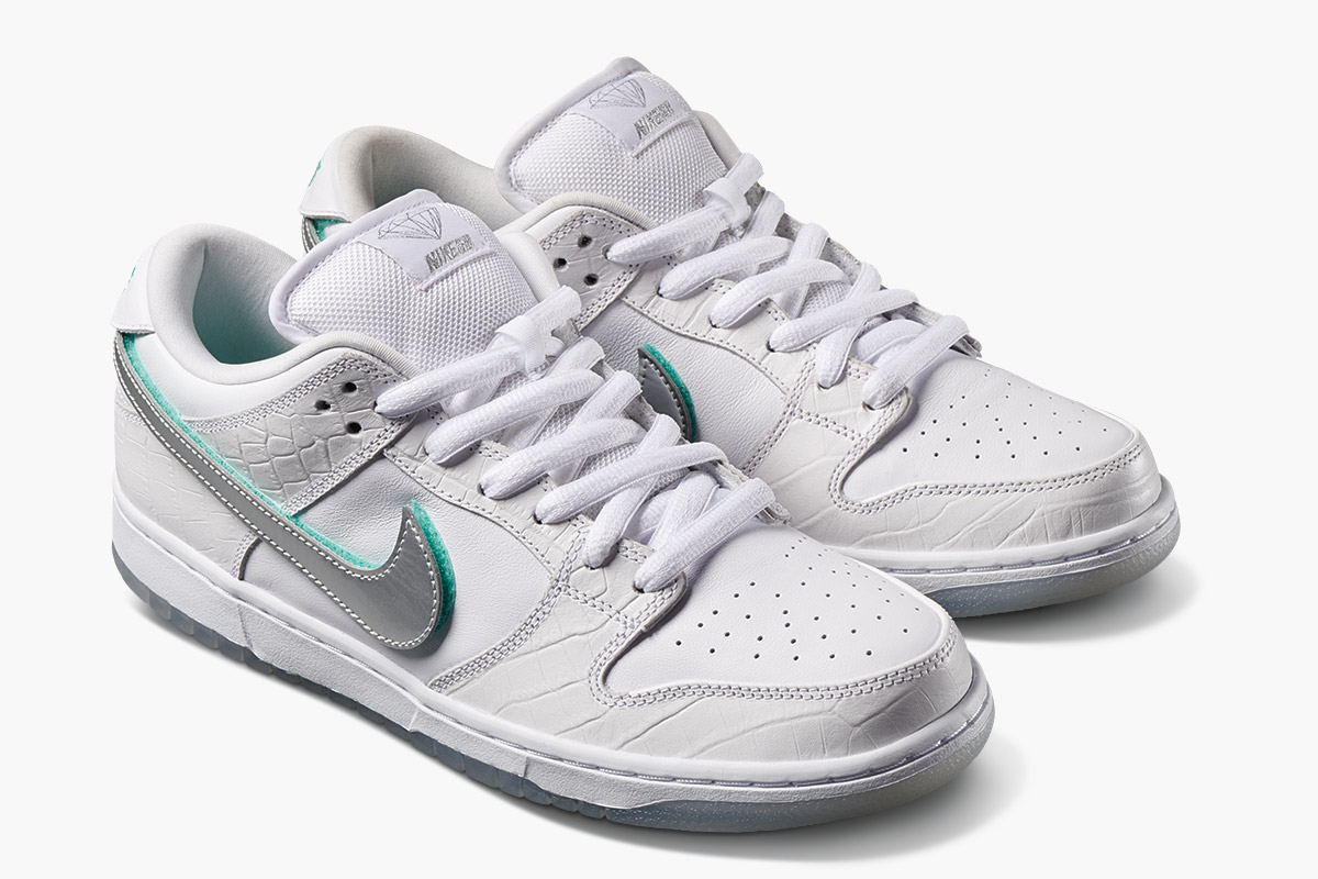 44fe7008 All Three Diamond Supply Co. x Nike SB Dunk Lows are Now Being Sold at  StockX