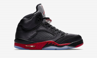 "Here's What Resellers are Shifting the New Satin Air Jordan 5 ""Bred"" For"