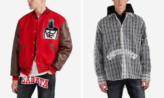 Barbed-Wire Meets 'Texas Chainsaw Massacre' In Warren Lotas' FW18 Collection