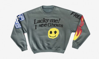 Cactus Plant Flea Market Drops Crewneck Celebrating Kanye West & Kid Cudi's 'KIDS SEE GHOSTS'