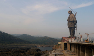 India's 597-Foot Statue of Unity Becomes the World's Tallest Statue