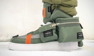 Takashi Murakami Unveils Custom Sneaker Made of PORTER Bags