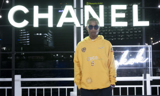 Pharrell Williams Announces New Chanel Collaboration & Reveals Hoodie