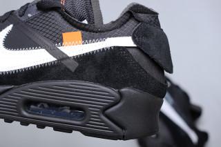 58f7ed9485f9f3 OFF-WHITE x Nike Air Max 90 Black  Release Date