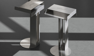 New Tendency's Meta Side Table Is Pure Bauhaus Minimalism