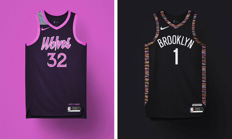 Nike Unveils 2018 2019 Nba City Edition Uniforms