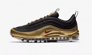 "Here's How to Cop Nike's Air Max 97 ""Metallic Gold & Silver"" Pack"