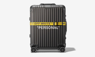 "The OFF-WHITE x RIMOWA ""PERSONAL BELONGINGS"" Suitcase Is Dropping Soon"