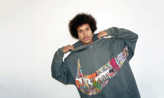 This Giant-Swooshed Nike Hoodie Is Bandulu's Most Out-There Piece so Far