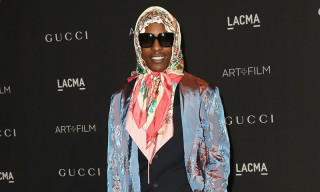 "The Drip | A$AP Rocky's All-Gucci ""Babushka"" Red Carpet Look Is Arguably His Best Yet"