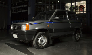 An Italian Mogul's '80s Fiat Panda Got the Garage Italia Treatment
