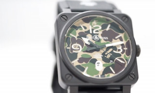 Bell & Ross Celebrates 25 Years of BAPE With Limited Edition Camo Watch