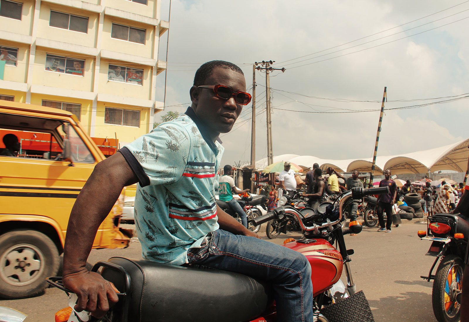 Nigeria's Okada Bikers Could Be the Freshest People on Earth