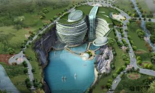 This Underground Shanghai Hotel Is the World's First