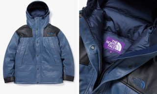 The North Face Purple Label Reimagines the Classic Mountain Jacket in Leather