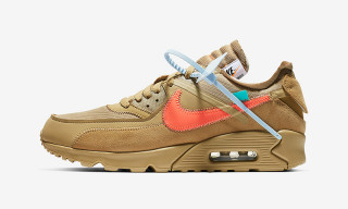 "Here's an Official Look at the OFF-WHITE x Nike Air Max 90 ""Desert Ore"""