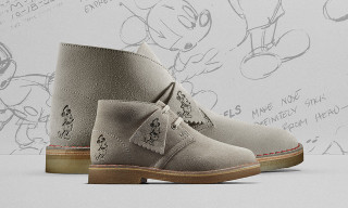 Clarks Originals Celebrates 90 Years of Mickey Mouse With Commemorative Desert Boots