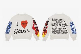 Kanye West Kid Cudi Drop New Kids See Ghosts Merch
