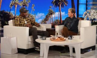 """Travis Scott Talks About Being a Dad & Performs """"Sicko Mode"""" on 'Ellen'"""